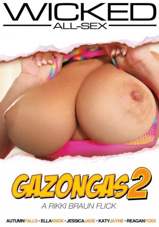 Rikki Braun, Wicked Pictures: Gazongas 2 [DVDRip/404p/1.47 GB]