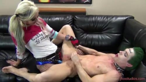 Horny Harley Quinn hard pegging the Joker [FullHD, 1080p] [Clips4sale.com]