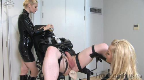 Eleise de Lacy, Lady Lola - Anal Fisting for Slave by Mistresses Eleise de Lacy and Lady Lola [HD, 720p] [FemmeFataleFilms.com, Clips4sale.com]
