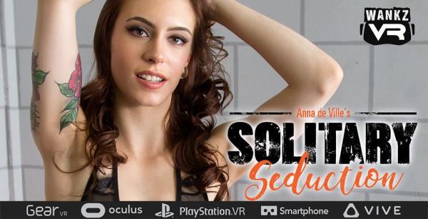 WankzVr.com - Anna de Ville - Solitary seduction [FullHD 1080p]