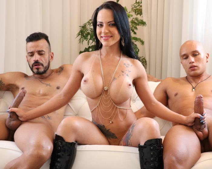 LegalPorno - Liandra Andrade - Hot Brazilian Slut Liandra Andrade Double Anal Fucked BZ010 [HD 720p]