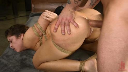 Mr. Pete, Victoria Voxxx - All Natural BDSM Slut Victoria Voxxx Rough Anal Brutal Bondage [SD, 540p] [BrutalSessions, Kink.com]
