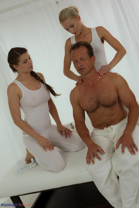 MassageRooms.com - Uma Zex, Mona And George Uhl - HARDCORE [2019 FullHD] (Threesome, BJ, Hardcore, Massage, All Sex)
