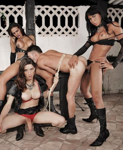 Adriana Rodrigues, Jade, Lynda - Hardcore (HD)
