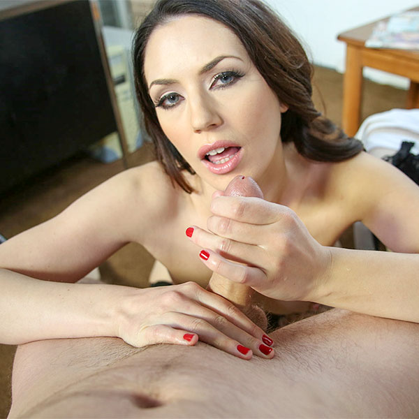 Sarah Shevon: Sperm Bank Stroke (FullHD / 1080p / 2019) [ManoJob]