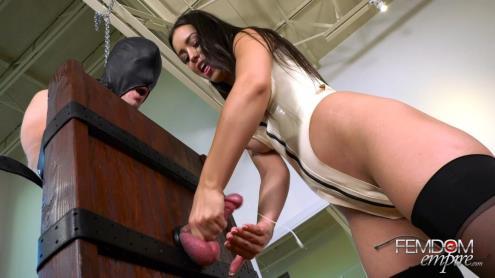 Alina Lopez - Drained Gimp Balls - Handjob and Milking [FullHD, 1080p] [FemdomEmpire.com]