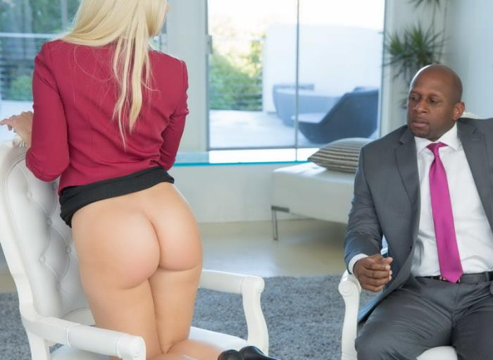 Blacked.com - Anikka Albrite - Business Blonde Wife Ass Fucked By a BBC [2019 FullHD] (All sex, anal)