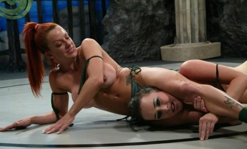 Claire Addams, Alexa Von Tess - the Sadist vs the Badger (572 MB)