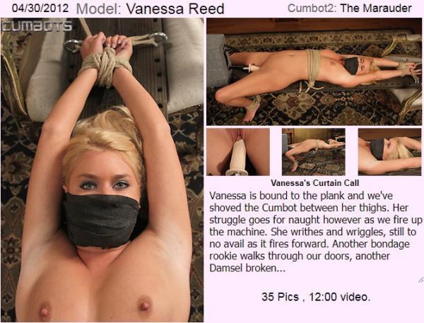 CumBots/Dungeoncorp.com - Vanessa Reed - Vanessa's Curtain Call [SD 540p]