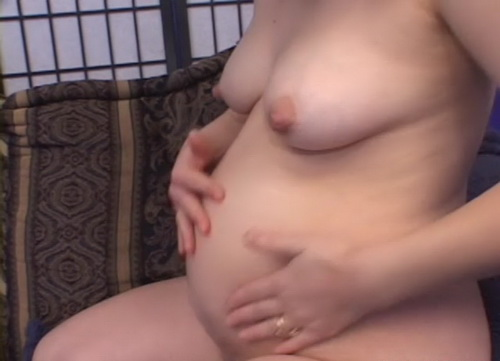 Unknown - Awesome preggo boobs jiggle during fuck (SD)