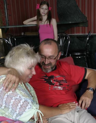Rod For Granny Rubbing For Grand Daughter - Rod For Granny Rubbing For Grand Daughter (HD)