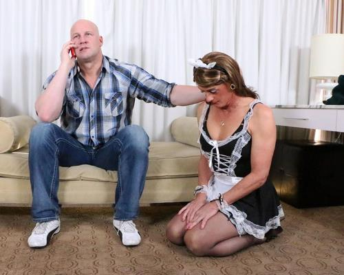 Jeanne - Sissy French Maid Gets Fucked (SD)