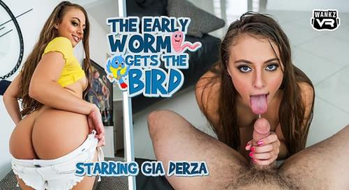 Gia Derza - The Early Worm Gets the Bird (25.06.2019/WankzVR.com/3D/VR/UltraHD 2K/1920p)
