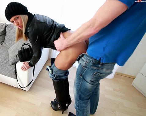 Daynia - The SCHLAMPEN TRICK! Horny dick bitch zerfickt to sperm flood! [MyDirtyHobby] (FullHD FLV 194 MB 2019)
