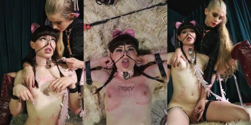 Natalie Mars, Goddess Kyaa - Piglet Fuckdoll Transformation part 1 (FullHD)