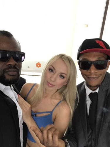 Kira Thorn, Franco Roccaforte, Tony Brooklyn, Carlos Valdez - 7on1 BBC GangBang, Kira gets her dream only black guys and only in the ass GIO417 (904 MB)