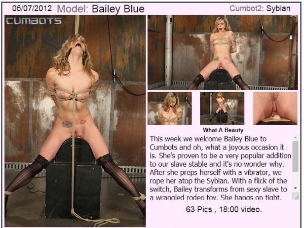 CumBots/Dungeoncorp.com - Bailey Blue - What A Beauty [SD 540p]