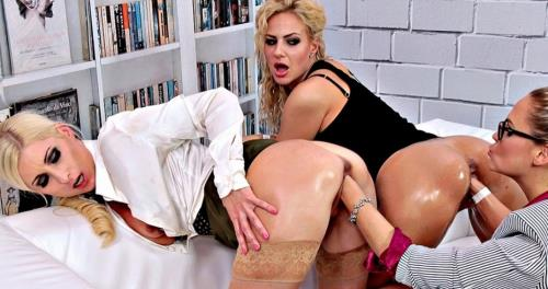 Vanessa, Nathaly Cherie And Barra Brass - HARDCORE (FullHD)