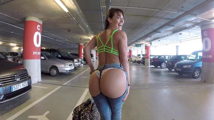 Franceska Jaimes - Anal sex in the airport garage with Franceska Jaimes (2019) [FullHD/1080p/MP4/1.48 GB] by Utrodobroe