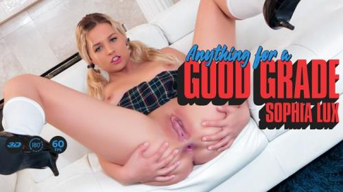 Sophia Lux - Anything for a Good Grade (25.06.2019/LethalHardcoreVR.com/3D/VR/UltraHD 2K/1920p)