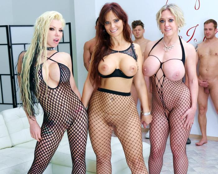LegalPorno - Syren De Mer, Dee Williams, Barbie Sins - Outnumbered Both Way Pee Edition 2 With Syren De Mer, Dee Williams And Barbie Sins Balls Deep Orgy, Piss Drinking GIO1063 [UltraHD 4K]