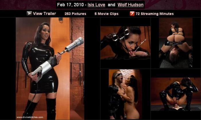 Divinebitches/Kink - Isis Love - Isis Love and Wolf Hudson [2019 HD] (Bdsm, Femdom, All Sex)