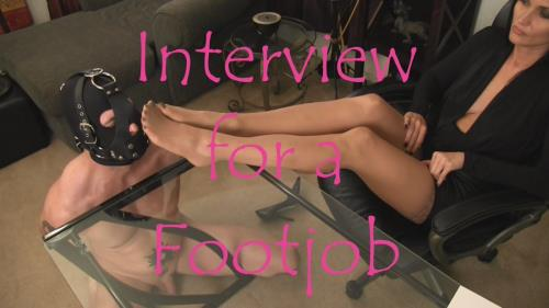 Obey Melanie - Interview for a Footjob (HD)