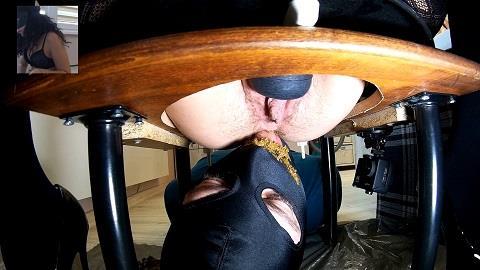 Mistress Anna - Hairy Mistress Scat (FullHD 1080p)