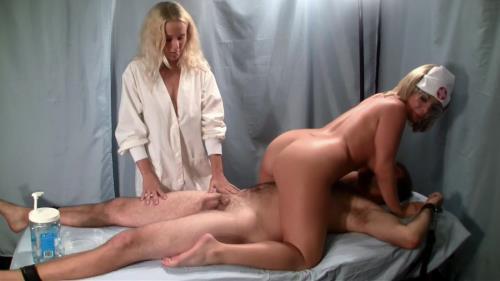 Madonna, Kenna Valentina - Primals Handjobs Nurse Jakof Madonna and Kenna Valentina Patient Refuses Ejacualtion Therapy (HD)