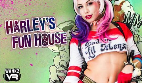 Aidra Fox - Harley's Fun House (FullHD)