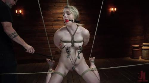 Kate Kennedy - Kate Kennedy is Brutalized in Extreme Bondage and Made to Cum [SD, 540p] [Hogtied.com, Kink.com]