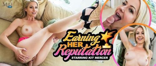 Kit Mercer - Earning Her Reputation (22.08.2019/MilfVR.com/3D/VR/UltraHD 4K/2300p)