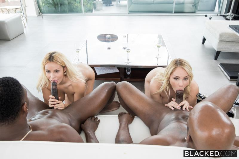 Kylie Page, Hadley Viscara: Hardcore (HD / 720p / 2019) [Blacked]