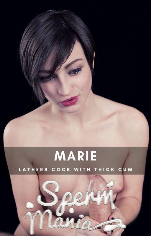 Marie - Sperm Fetish (Spermmania) FullHD 1080p