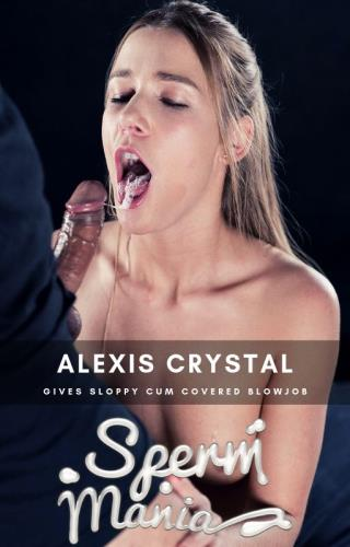 Alexis crystal - Sperm Fetish (FullHD)