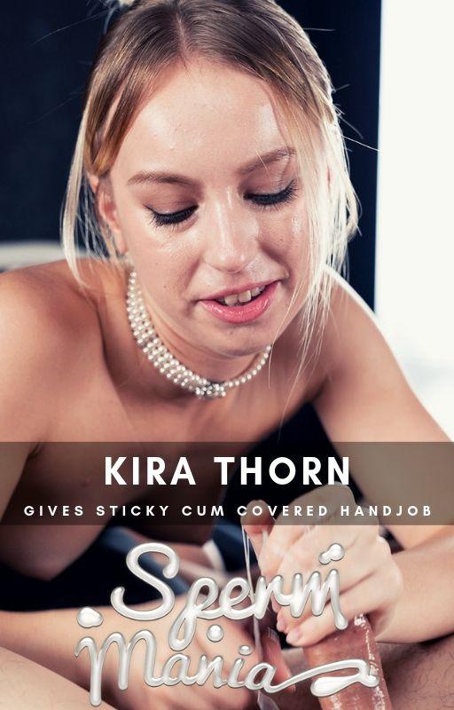 Kira Thorn - Sperm Fetish [Spermmania] (FullHD MP4 233 MB 2019)