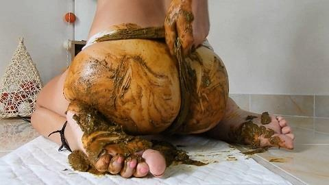 MissAnja - Nasty Panty Poo Fun/Girlfriend Experience [FullHD, 1080p] [ScatShop.com]
