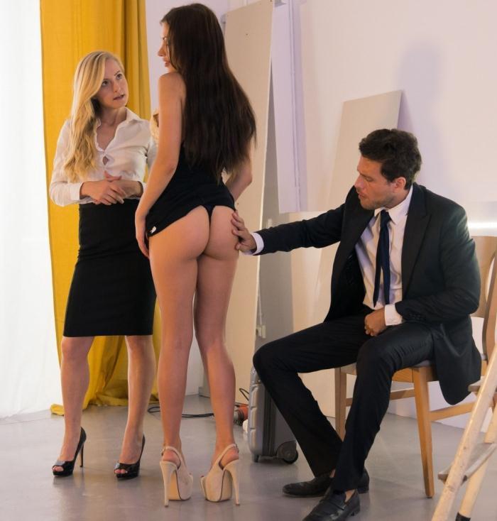 LosConsoladores/PornDoePremium: Hot Spanish babe gets cum covered in consoling threesome with blonde wife - Sicilia Sasha, Rose [2019] (SD 480p)