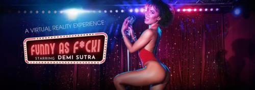 Demi Sutra - Funny As F*ck! (13.10.2019/VRBangers.com/3D/VR/UltraHD 4K/2700p)