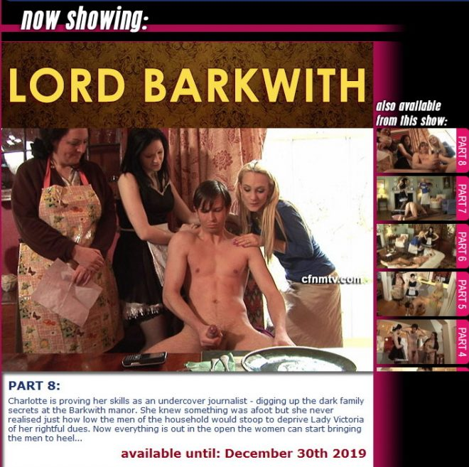 cfnmtv: UNKNOWN - Lord Barkwith (part 1-8) (2019) 540p WebRip