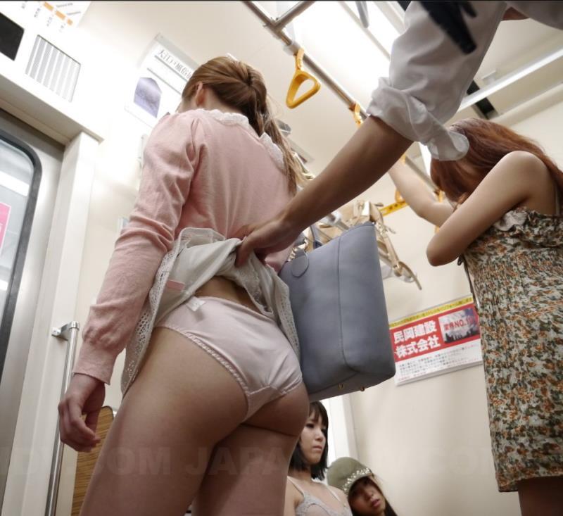 JapanHDV: Mikan Kururugi, Tsuna Kimura Mikan Kururugi and Tsuna Kimura in train fuck [FullHD 1080p]
