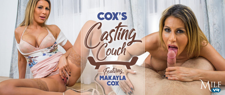 Makayla Cox: Coxs casting couch (FullHD / 1080p / 2019) [MilfVR]