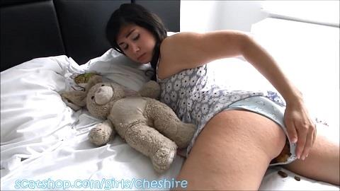 Cheshire - Pooping My Panties During Nap Boyfriend POV (FullHD 1080p)