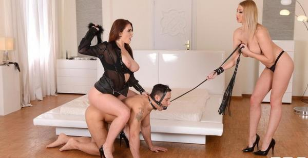 DDFNETWORK: Emma Louise Johnston, Lexi Lowe, Mugur - Their Pliant Plaything (HD) - 2019