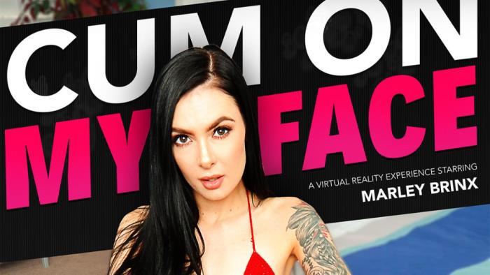 Marley Brinx - Cum On My Face (FullHD 1080p) - NaughtyAmericaVR - [2019]