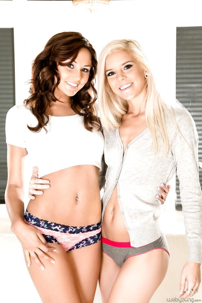 WebYoung: Tryouts - Ariana Marie, Halle Von [2019] (FullHD 1080p)