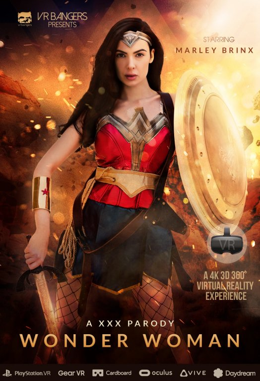 Wonder woman - Marley Brinx [VRbangers] (HD 960p)