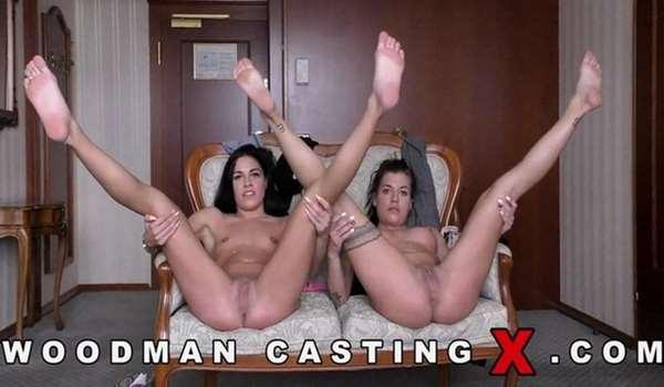 Casting X 155 - Eveline Dellai, Silvia Dellai [WoodmanCastingX] (HD 720p)