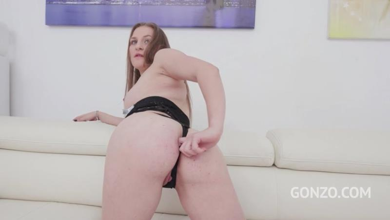 Bella Manning, Ed Junior, Cristian Clay, Chris Diamond - 18 years old Bella Manning assfucked DPed in her first porn scene SZ2335 (2019) SD 480p! ( 2019/LegalPorno.com/SD)