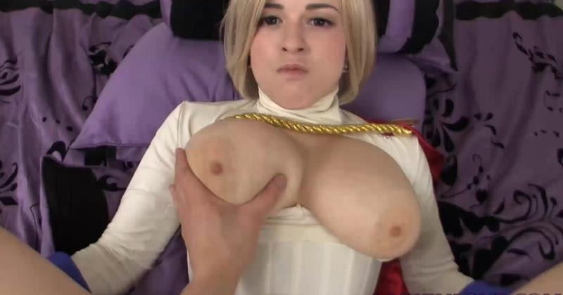 LARKIN: Power Girl Creampied And Fucked Hard (FullHD / 1080p / 2019) [Clips4Sale]